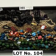 FRENCH BLACK JET NECKLACE WITH EARRINGS & SOME SILVER ITEMS, MARK & SYRIE N...
