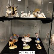 COLLECTION OF ROYAL DOULTON WALT DISNEY FIGURES WITH BOXES