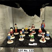 COLLECTION OF BEANO FIGURES WITH BOXES