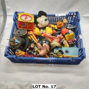 COLLECTION OF EARLY MICKY MOUSE TOYS INCL. TINPLATE & PELHAM