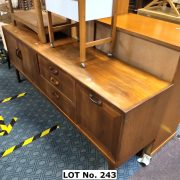 G-PLAN 6 FT. SIDEBOARD - TOP FADED