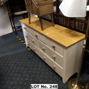 PINE TOP 7 DRAWER CHEST