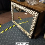 LARGE BAUYAM MIRROR BY LOAF - SHELL /MOASIC 108CM X 80CM