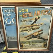 FOUR WAR POSTERS